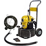 SDT K1500 2 -8  Snake Sewer Pipe Drain Cleaning Machine fits RIDGID C11 Cable
