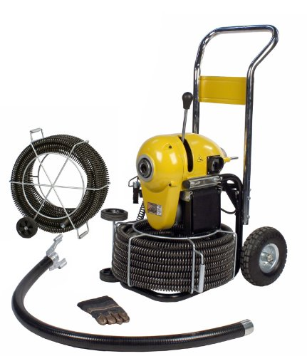 Steel Dragon Tools K1500A Drain Cleaning Machine with 120ft. of C11 Cable fits RIDGID