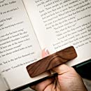 PagePal Page Holder - Handmade Personal Book Assistant - American Walnut (Regular)