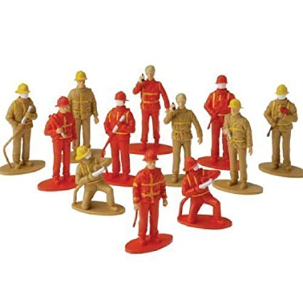 US Toy Firefighter Toy Figures UST2451