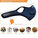 WERTYCITY Dust Mask with 6 Activated Carbon