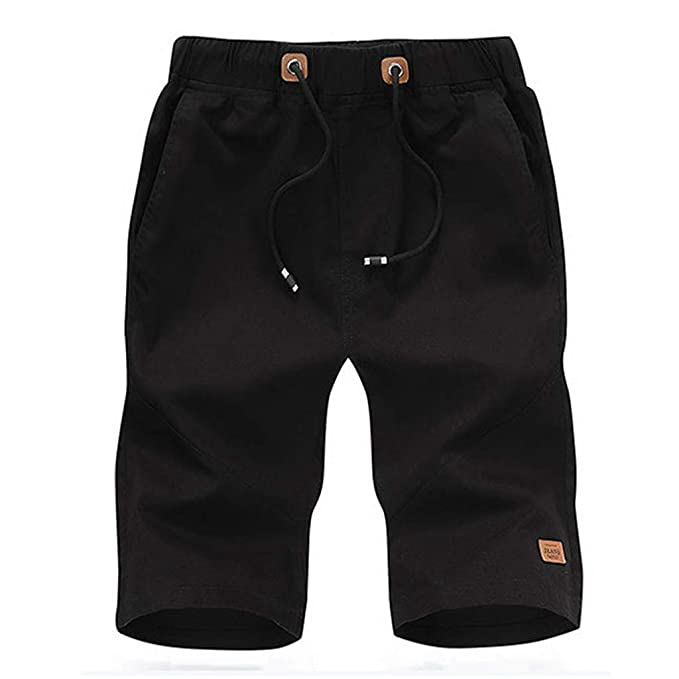 Amazon.com: YKARITIANNA Mens Fashion Casual Cotton Pocket Solid Outdoors Work Trouser Cargo Short Pants: Arts, Crafts & Sewing