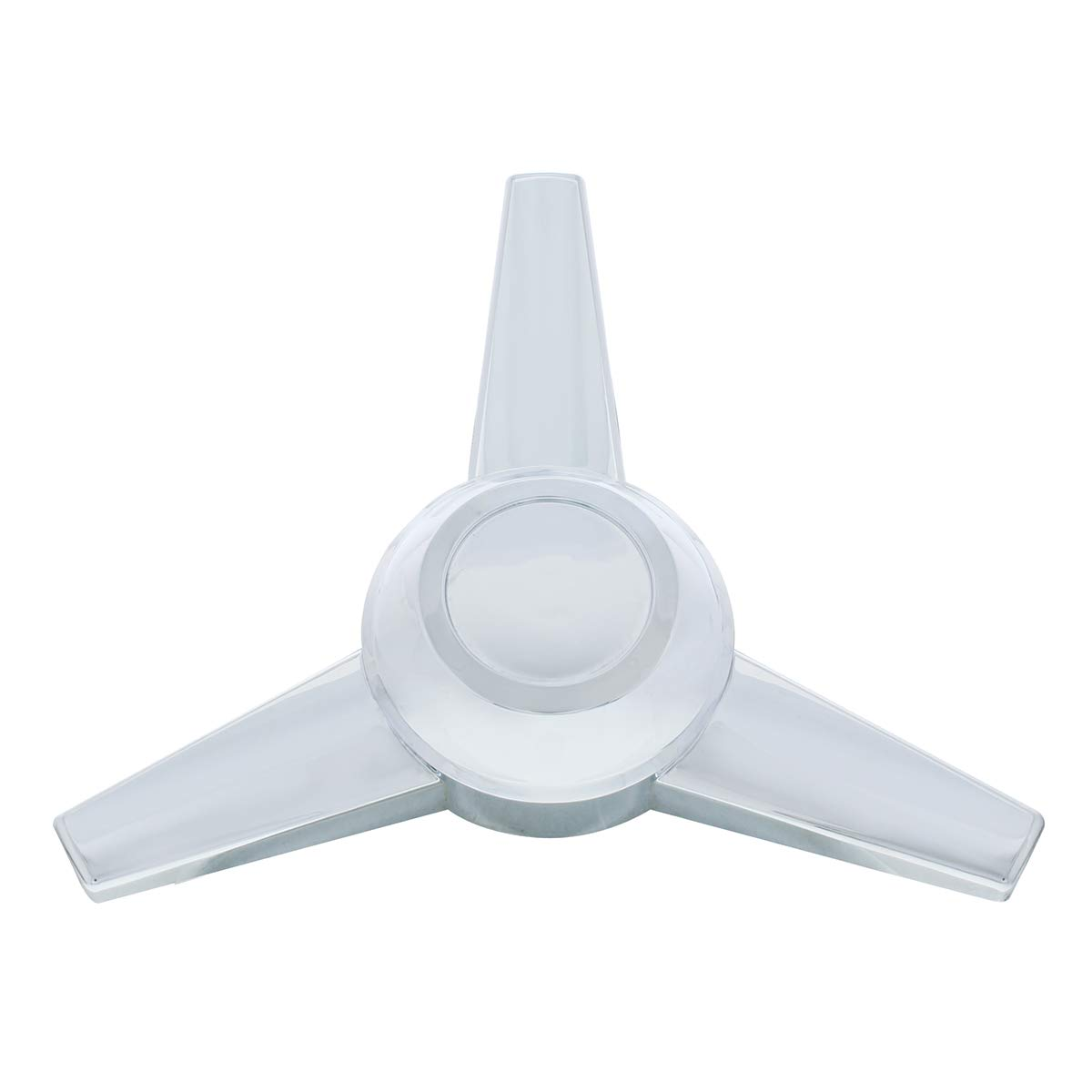 United Pacific 10722 3-Bar Extra Large Spinner for Hub Caps