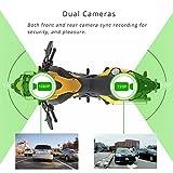 VSYSTO 2CH M2L Motorcycle Dash Cam Camera
