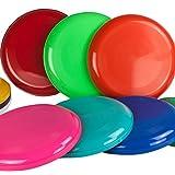 Flying Disc, Frisbees, 5 Various Colours, Pack of 5 - SchwabMarken