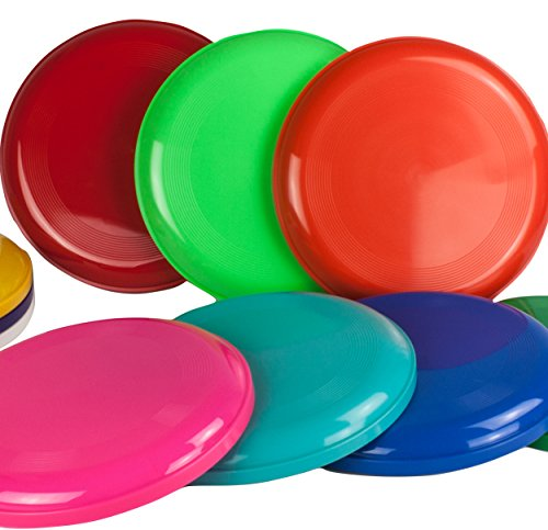 (SchwabMarken Flying Disc, Frisbees, 5, Pack of 5, Not for Dogs! )