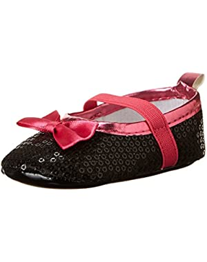 Minnie Sparkle Shoe Crib Shoe (Infant)