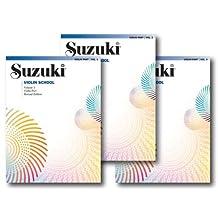 Suzuki Violin School, Violin Part - 3 Book Set - Includes Volume 1, Volume 2 and Volume 3
