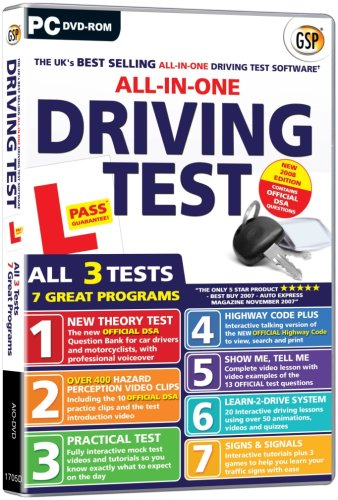All In One Driving Test (PC DVD)