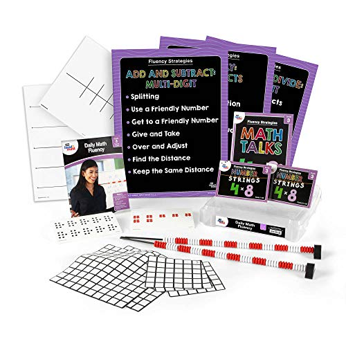 Daily Math Fluency Kit for Kids (Grade 3+) - Find The Distance, Keep The Same Distance, Splitting, and Much More | Develop Numeracy and Mathematical Relationships | Math Fluency Strategies