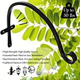 Incredibly Sturdy Hanging Plant Bracket, for Heavy