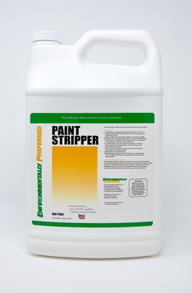 Natural Soy Products Paint Stripper, Gallon