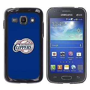 iKiki Tech / Estuche rígido - LA Clipper Baloncesto - Samsung Galaxy Ace 3