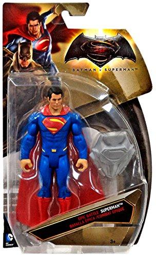 Batman vs Superman Superman Tri-card Silver Shield Variant Epic Battle