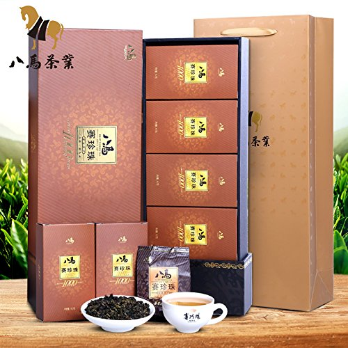 Bama tieguanyin 八马茶业 铁观音茶叶 浓香型赛珍珠1000礼盒 安溪乌龙茶250克 Eight horse tieguanyin FOOD CO by FOOD CO
