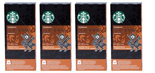 Starbucks Capsules Compatible with Nespresso Original - 40 Upon (Colombia)