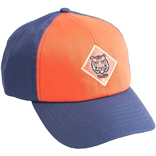Cub Scouts Tiger Cap / Hat - Official BSA Uniform Apparel (Small / (Scout Tiger)