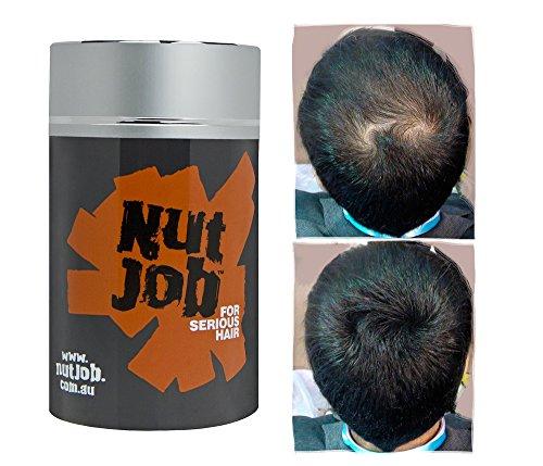 Nut Job Hair Building Fiber Black by Nut Job