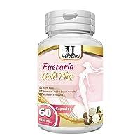 PUERARIA MIRIFICA 5500mg Strongest Bust Firming Breast Enlargement - Body Augmentation, Vaginal Health, Menopause Relief, Skin & Hair Health 60 Vegetarian Capsules