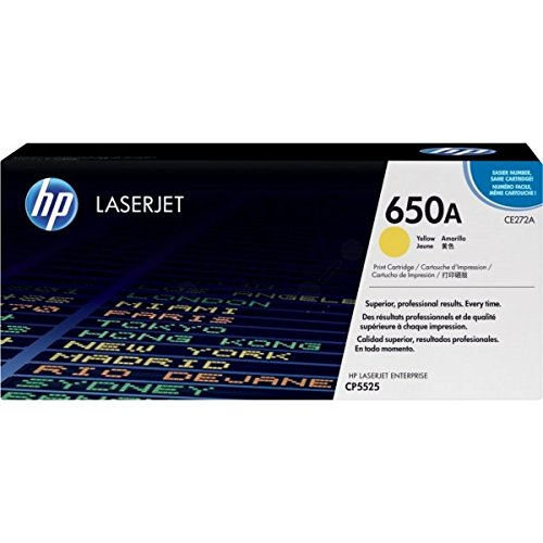 HP CE272AC Yellow Contract Toner Cartridge