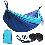 Product Description Features:  1. Light weight and breathable. 2. Durable--High strength nylon fabric materials, 3. Portable--Convenient to carry and store,easy to be cleaned. 4. Strong hammock with stand weight up to 500 lb. 5. Easy fixing, just fix...