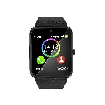 Montre connectée Bluetooth Roneberg, Montre connectée Appel téléphonique et SMS avec écran Tactile pour Appareil