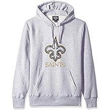 NFL Men's OTS Slogan Fleece Hoodie Distressed