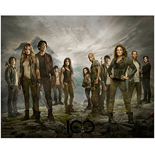 The 100 Bob Morley as Bellamy Blake Standing with Full Cast Promo 8 x 10 Inch Photo - Bellamy Photo