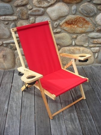 The Outer Banks Beach Chair by Blue Ridge Chair-Red