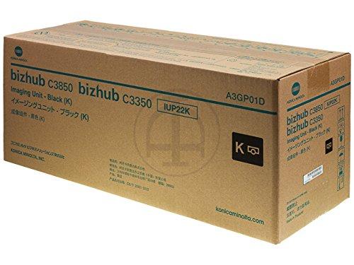 - A3GP01D Genuine Konica Minolta Imaging Unit, 22000 Page-Yield, IUP22K, Black