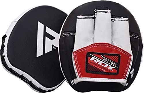 RDX Manoplas Boxeo Paos Muay Thai Kick Boxing Artes Marciales Patada Pad Entrenamiento