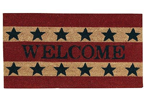 - Park Designs Welcome Coir Americana Doormat Home Improvement
