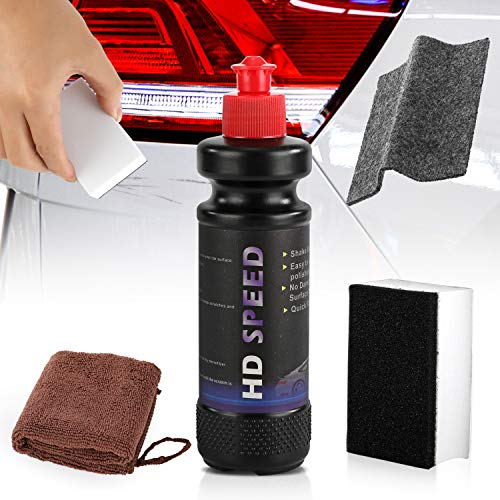 Quwei Car Paint Scratching Glass Stain Removal Polish Restore Blemishes to Repair Vehicle Surface