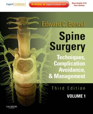 Spine Surgery 2-Vol Set: Techniques, Complication Avoidance, and Management (Expert Consult - Online)