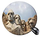 Round Mousepad Stone sculptures Mouse Pad