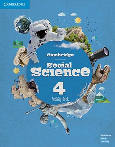 Cambridge Social Science Level 4 Activity Book (Social Science Primary) por Cambridge University Press