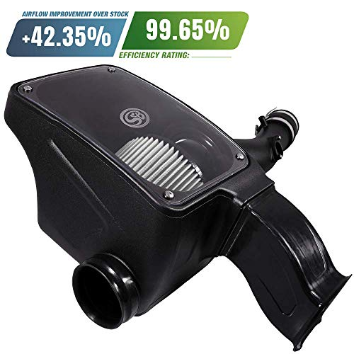 S&B Filters 75-5096D Cold Air Intake for 2016-2018 Toyota Tacoma 3.5L (Dry Extendable Filter) ()