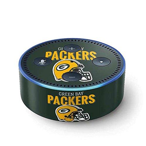 (NFL Green Bay Packers Echo Dot (2nd Gen, 2016) Skin - Green Bay Packers Helmet Vinyl Decal Skin For Your Echo Dot (2nd Gen, 2016))