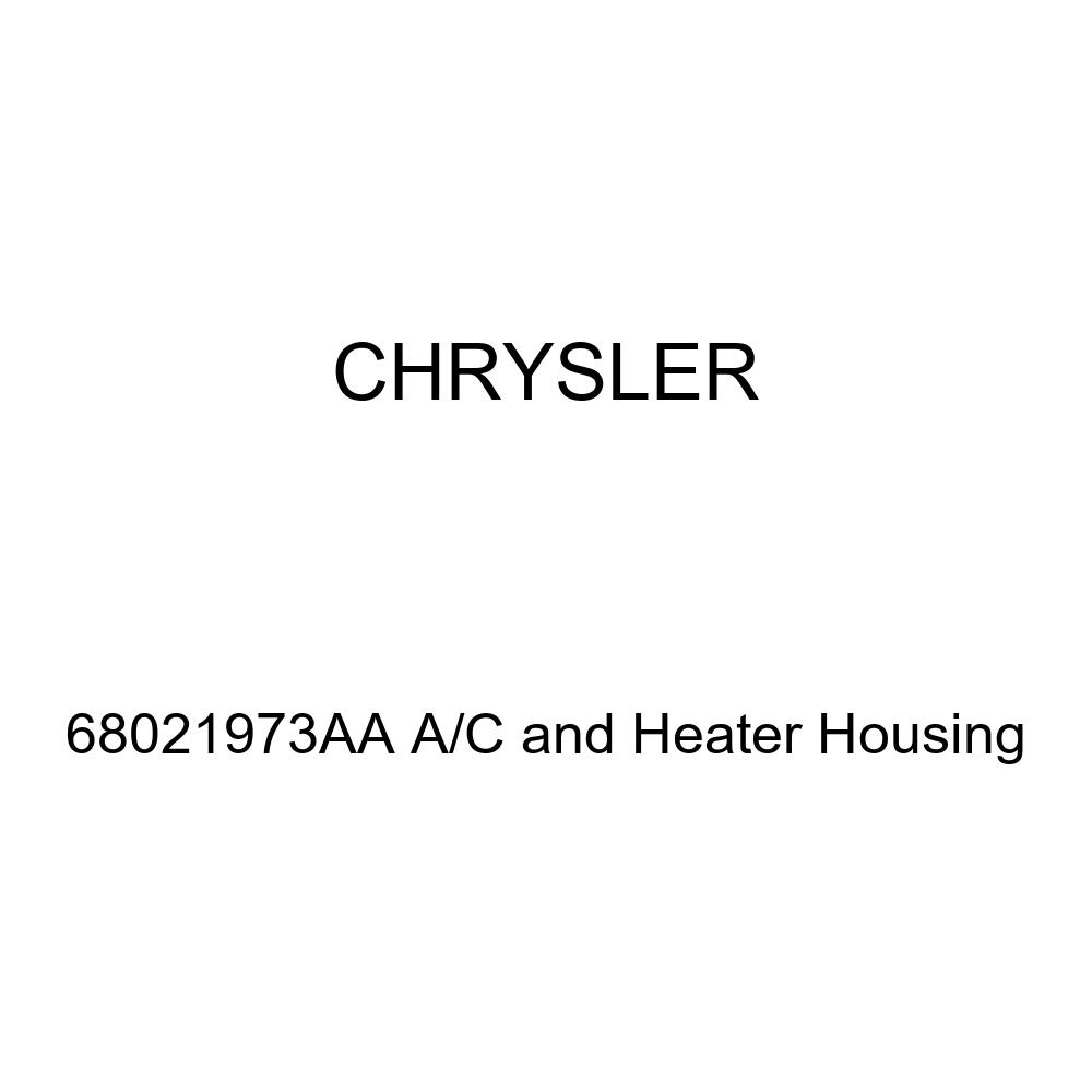 Genuine Chrysler 68021973AA A//C and Heater Housing