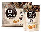 CJ Roasted Chestnuts, 80g / 130kcal Pouches (Pack of 3) Mountain climbing fishing Camping Children nutritious snacks Gift Party food