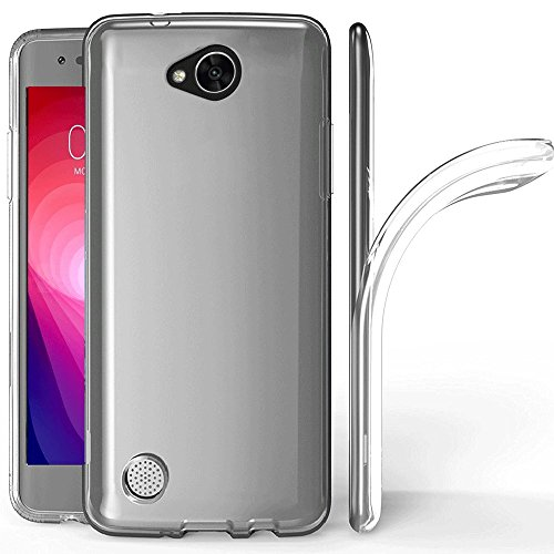 LG X Charge Case, LG X Power 2 Case, LG LV7 Case,LG Fiesta LTE Case, Skmy Scratch Resistant TPU Rubber Soft Skin Silicone Protective Case Cover for LG X Power2 / LG K10 Power (Clear)