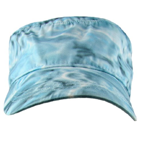 Aqua Design Sunguard Skyward Camouflage Sun Protection Fishing Military Cap