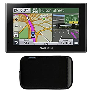 Garmin Nuvi Lmthd Case Bundle Includes Nuvi Lmthd Advanced Series  Gps Navigation System With Bluetooth Lifetime Maps Hd Digital Traffic
