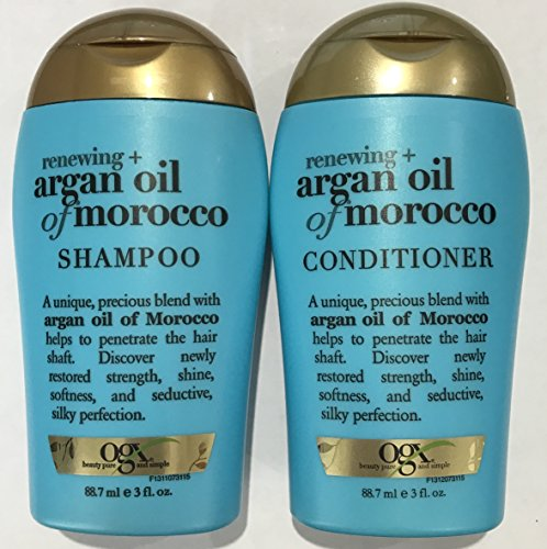 Ogx Renewing Argan Oil of Morocco Shampoo & Conditioner Trav
