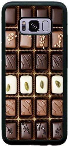 Rikki Knight Box of Gourmet Chocolates Design Cell Phone Case for Samsung Galaxy S8 Plus - Black