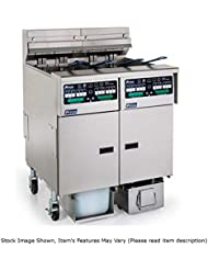 Pitco SELV14X C FD Solstice Reduced Oil Volume Electric Fryer W 1 30 Lb Tank 14 KW