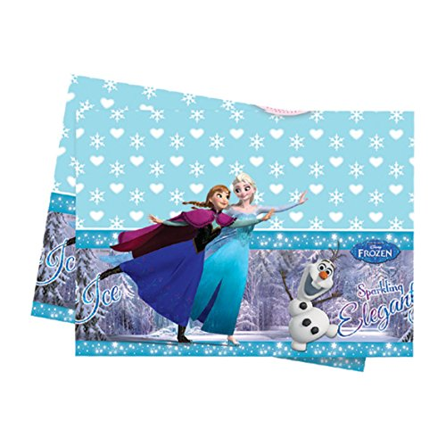 Frozen Ice Skating Tablecover (Ice Skating Party Supplies compare prices)