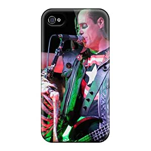 Iphone 4/4s Xyi15254lKdw Customized Beautiful Red Hot Chili Peppers Series Shockproof Hard Phone Cover -CharlesPoirier