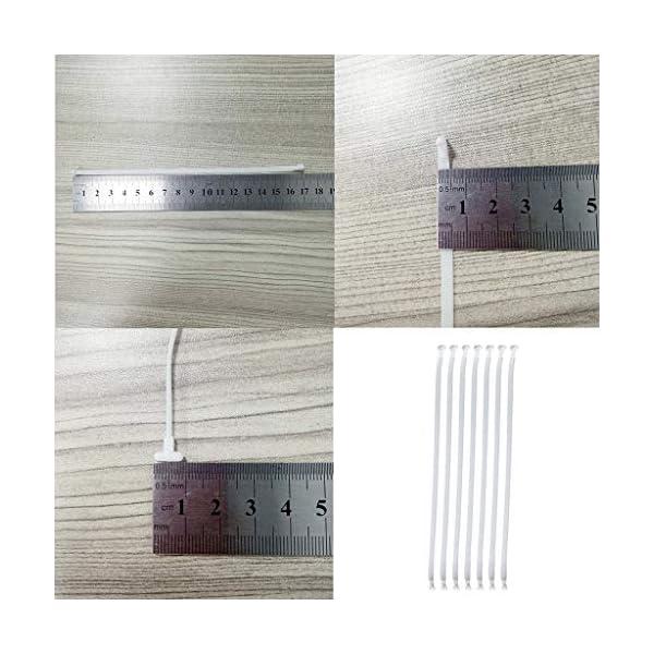 Webla 100Pcs Corda Per Maschera Corda Per Cinturino Rimovibile Elastico Alto Corda Elastica Per Orecchie Alta(20Pcs) 4 spesavip