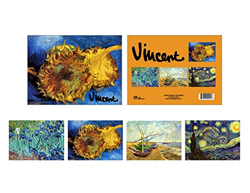 Boxed Set of 16 Fine Art Note Cards with Envelopes - Vincent van Gogh